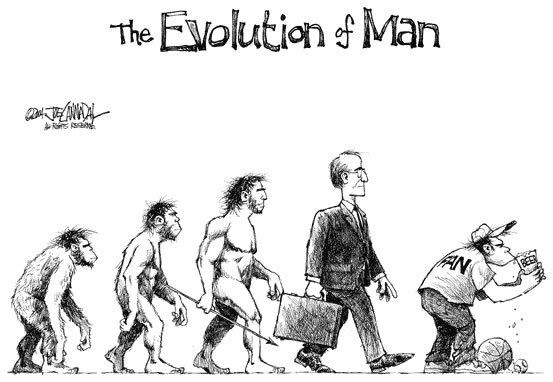 16 parodies de l'évolution de l'homme 4