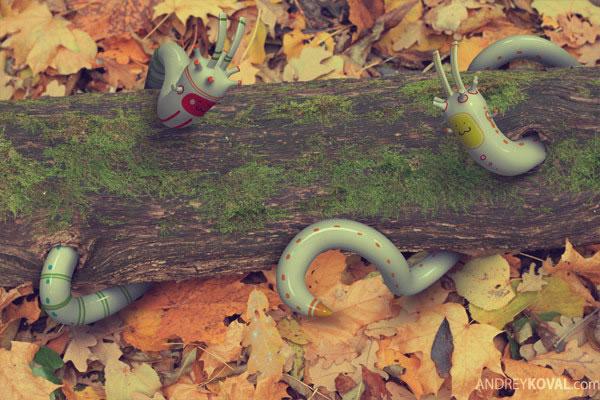 The Wood - petits persos 3D dans la nature 12