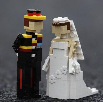 Le mariage du Prince Williams en LEGO 5