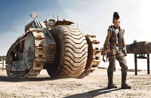 Promised Land - un monde d'enfants à la Mad Max 5