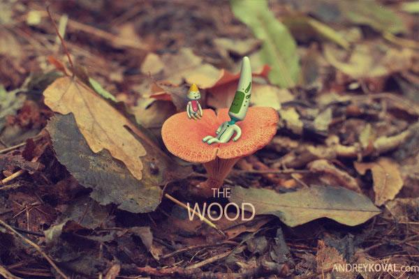 The Wood - petits persos 3D dans la nature 11