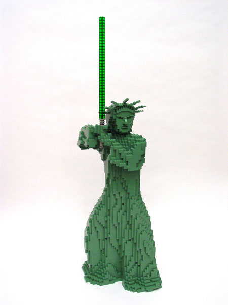 50 meilleurs créations en LEGO de Nathan Sawaya 2