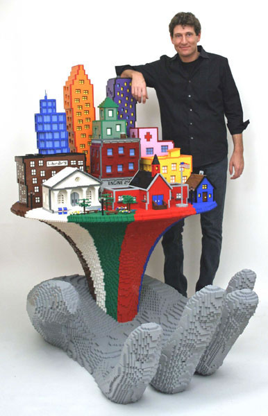 50 meilleurs créations en LEGO de Nathan Sawaya 17