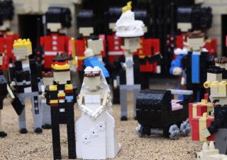 Le mariage du Prince Williams en LEGO