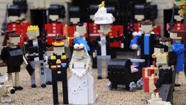 Le mariage du Prince Williams en LEGO 6