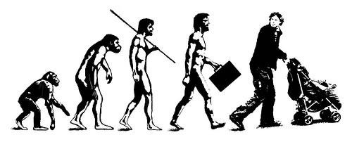 16 parodies de l'évolution de l'homme 6