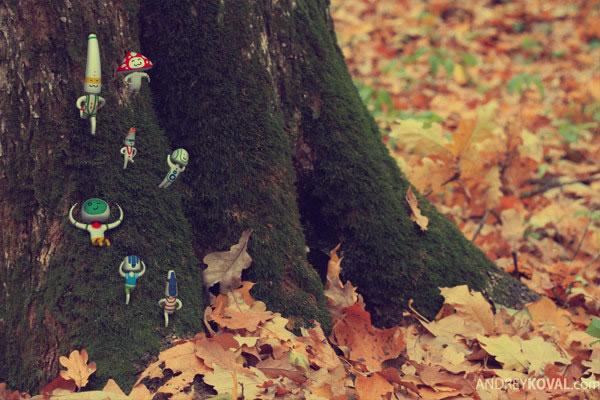 The Wood - petits persos 3D dans la nature 10