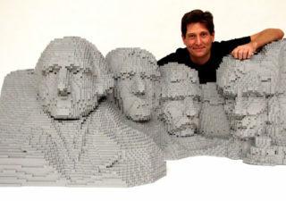 50 meilleurs créations en LEGO de Nathan Sawaya