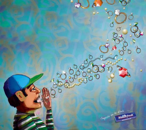 90 publicités pour du Chewing-gum 7