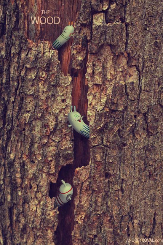 The Wood - petits persos 3D dans la nature 9