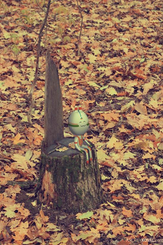 The Wood - petits persos 3D dans la nature 7