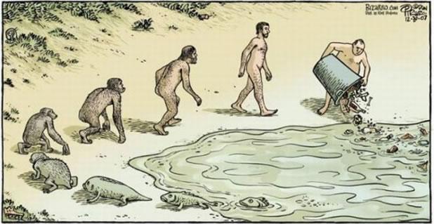 16 parodies de l'évolution de l'homme 11