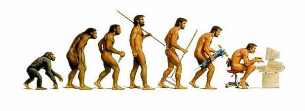 16 parodies de l'évolution de l'homme 12