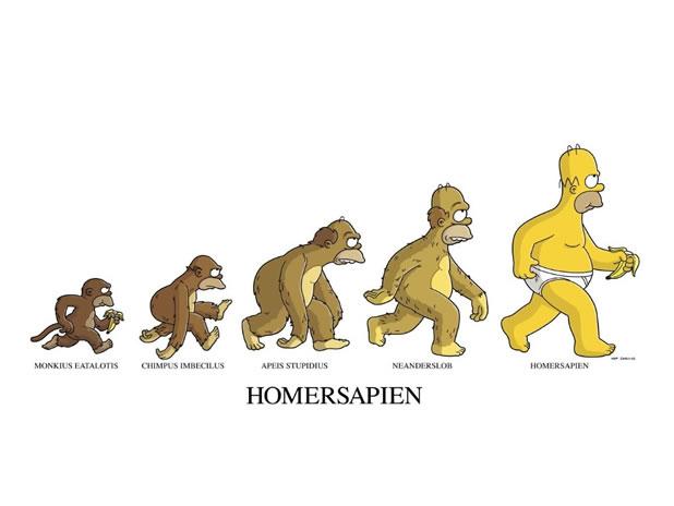 16 parodies de l'évolution de l'homme 14