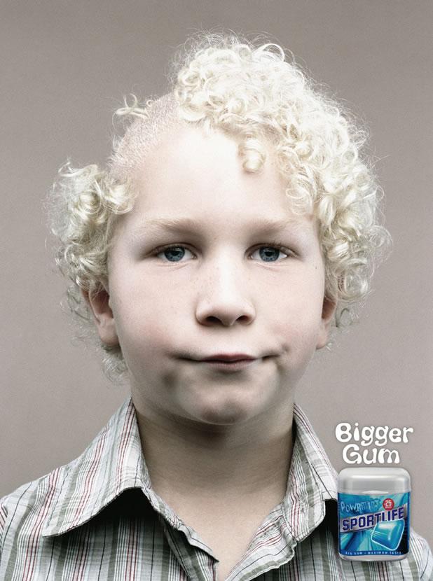 90 publicités pour du Chewing-gum 21