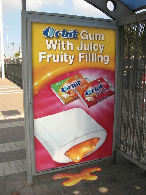 90 publicités pour du Chewing-gum 23