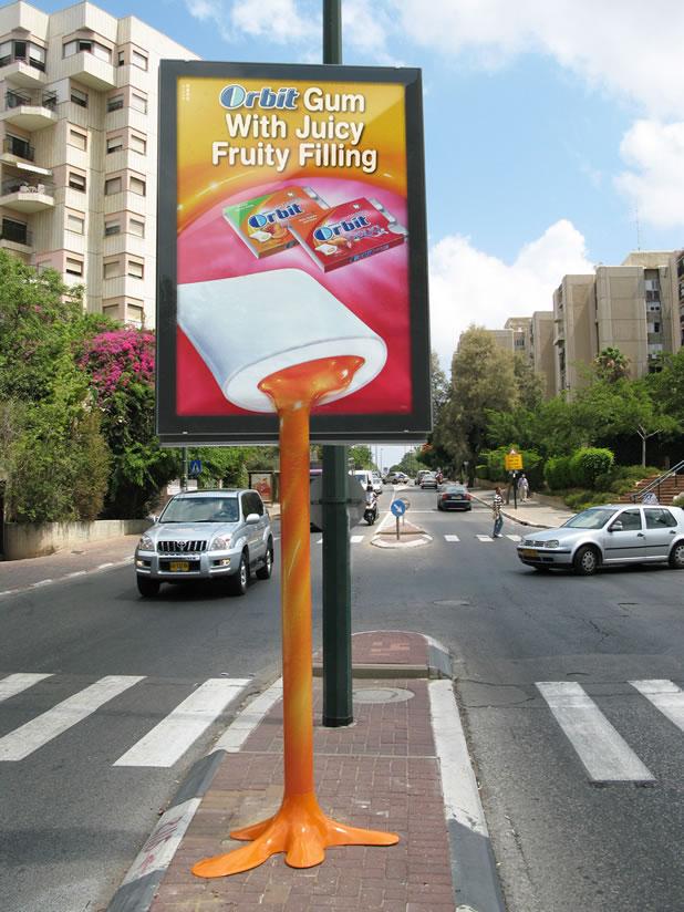 90 publicités pour du Chewing-gum 24