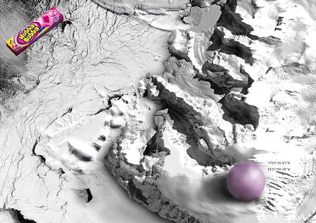 90 publicités pour du Chewing-gum 39