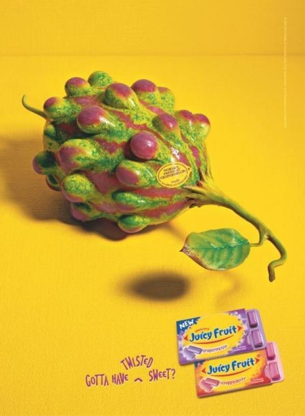90 publicités pour du Chewing-gum 46
