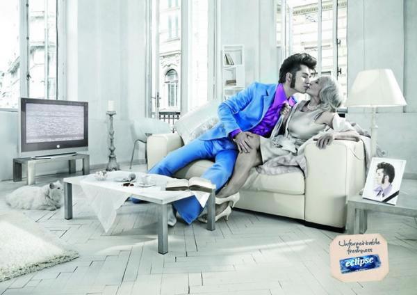 90 publicités pour du Chewing-gum 55