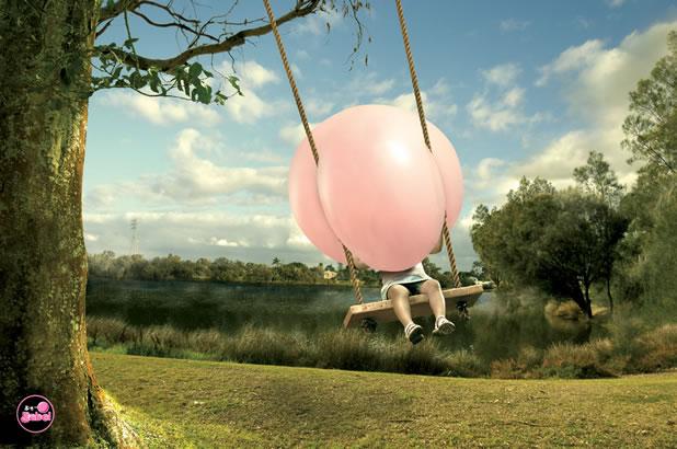 90 publicités pour du Chewing-gum 73