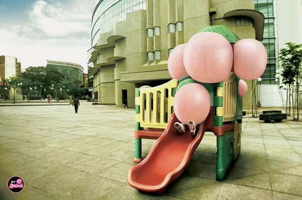 90 publicités pour du Chewing-gum 77
