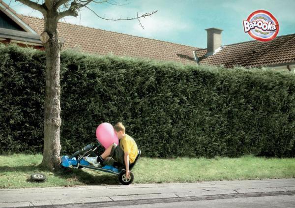 90 publicités pour du Chewing-gum 89