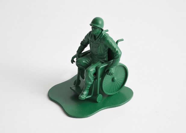 """Les jouets """"petits soldats"""" après des années de guerre 3"""