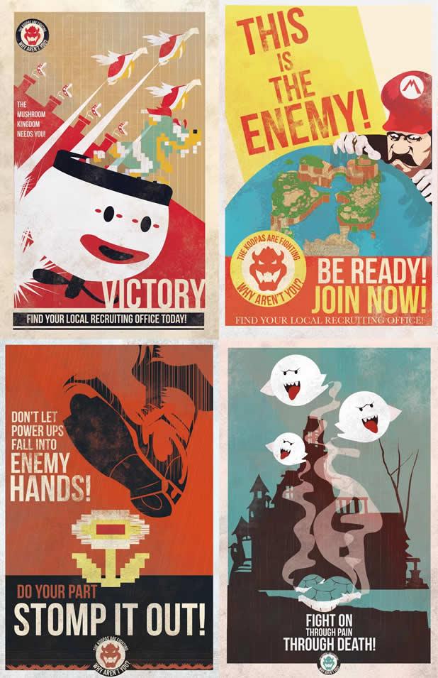 Les affiches de propagande Mario 6