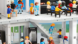 Un Apple Store en Playmobil 1