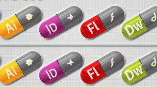 Des petites pilules magiques pour avoir de la créativité - Adobe Pills