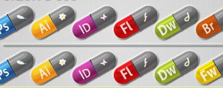 Des petites pilules magiques pour avoir de la créativité - Adobe Pills 1