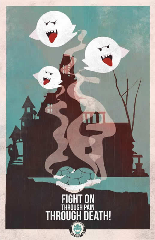 Les affiches de propagande Mario 4
