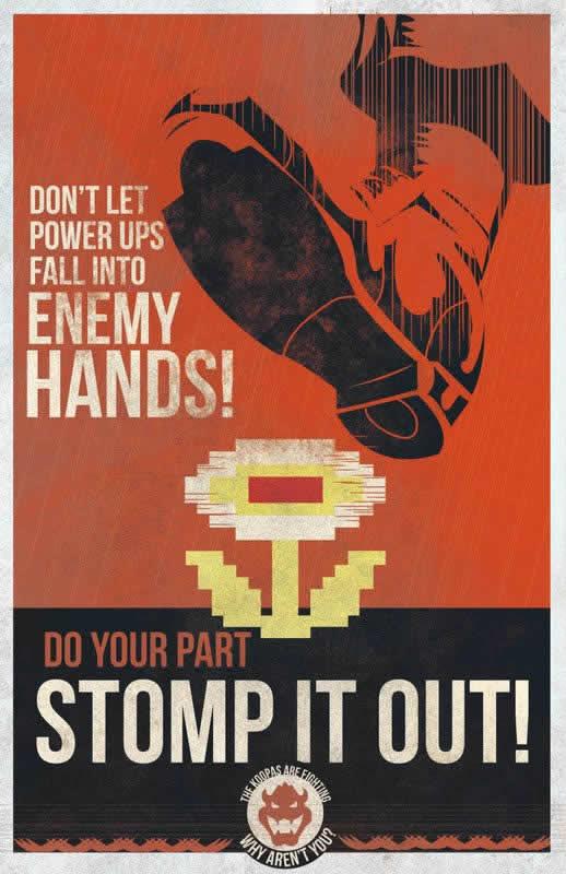 Les affiches de propagande Mario 2