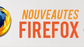 Infographie sur les nouveautés de Firefox 5 1