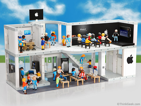 Un Apple Store en Playmobil 7