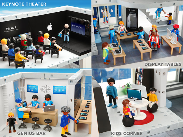 Un Apple Store en Playmobil 3