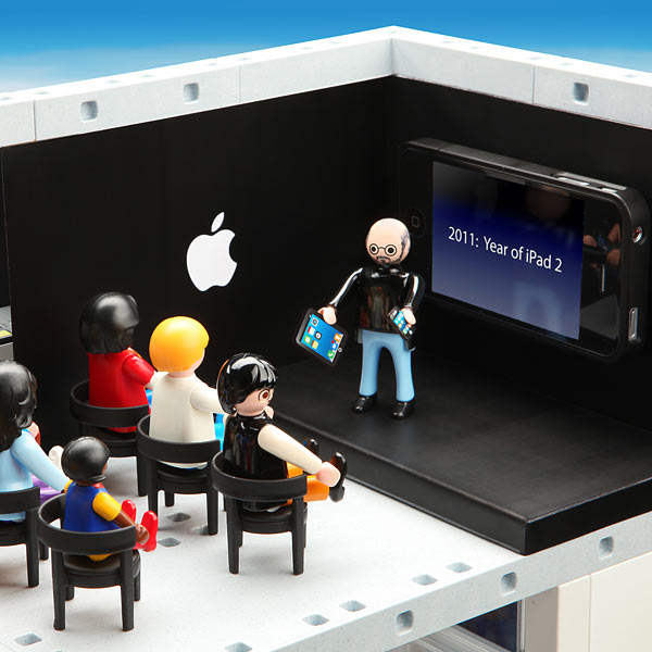 Un Apple Store en Playmobil 6