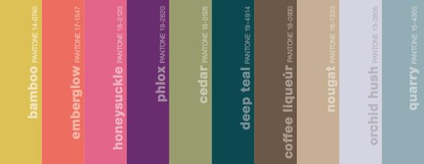 Les couleurs pantone tendances pour l'automne 2011 4