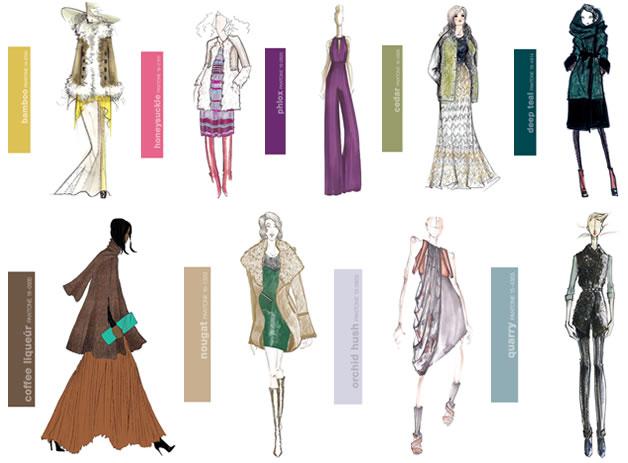 Les couleurs pantone tendances pour l'automne 2011 3