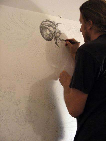 #claquedujour Immense incroyable fresque - Solitude  7
