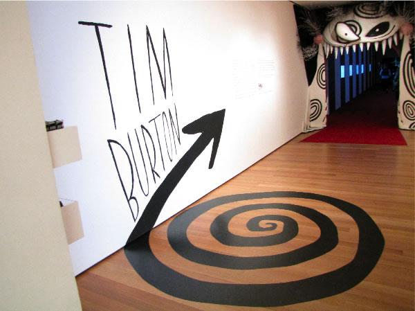 Exposition Tim Burton à la cinémathèque de Paris du 7 mars au 5 août 2012 2