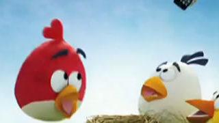 Publicité pour le Samsung Galaxy Ace et Angry Birds 3D