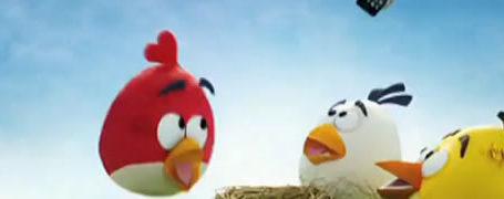 Publicité pour le Samsung Galaxy Ace et Angry Birds 3D 10