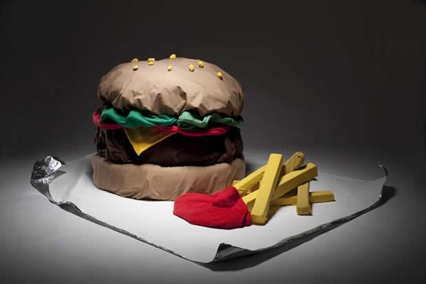 """Concept """"Qui veut des frites"""" en tissu Perishfactory 2"""