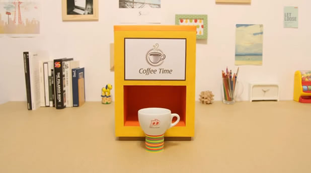 Coffee Time - Superbe stop-motion 2