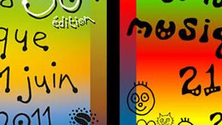 C'est la fête de la musique - générateur de l'affiche 2011 1