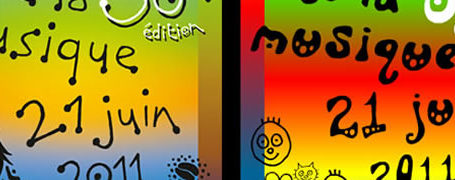 C'est la fête de la musique - générateur de l'affiche 2011 8