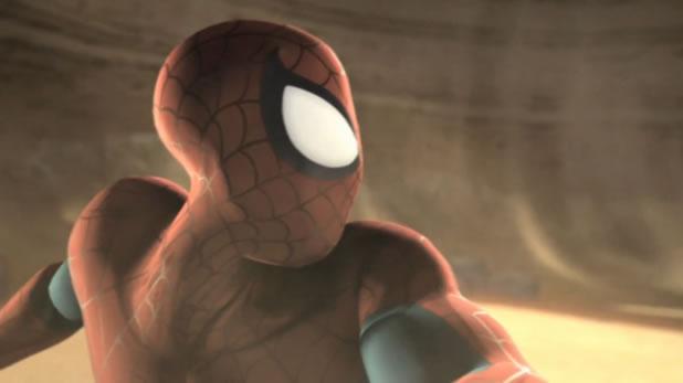 Les cinématiques du jeu Spider-Man Dimensions de Pablo Gonzalez 2