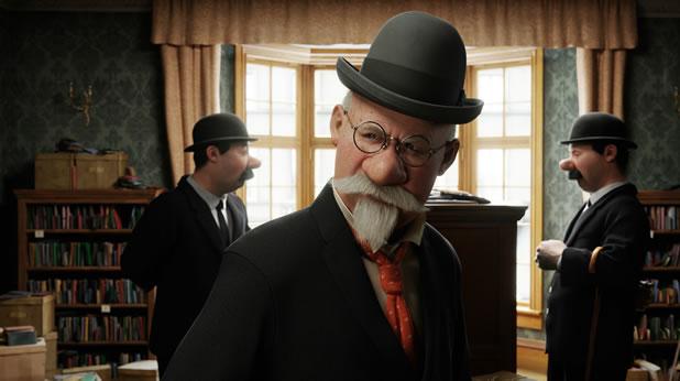 Bande annonce Tintin 3D le secret de la licorne par Spielberg et Jackson 6